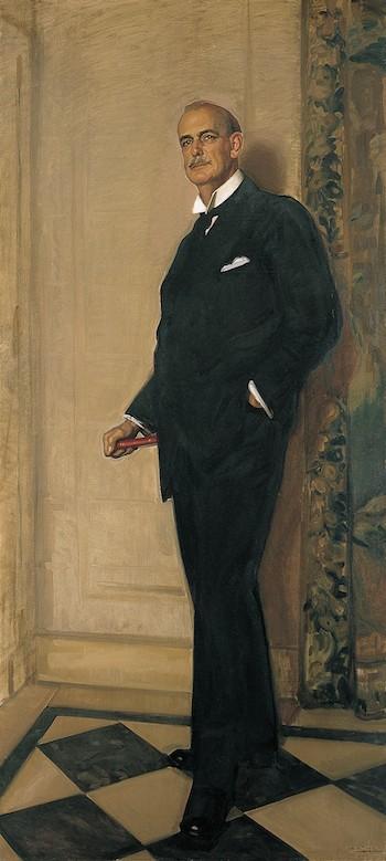 Archer Milton Huntington. José María López Mezquita. Óleo sobre lienzo, 1926. N