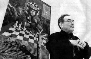 Fernando Arrabal, el ajedrez está en la temática de sus obras.