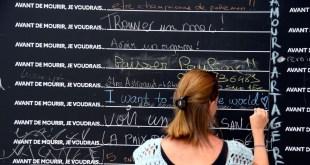 """""""Before I die"""": SNCF, la compañía ferroviaria francesa invita a los viajeros a escribir su última voluntad"""