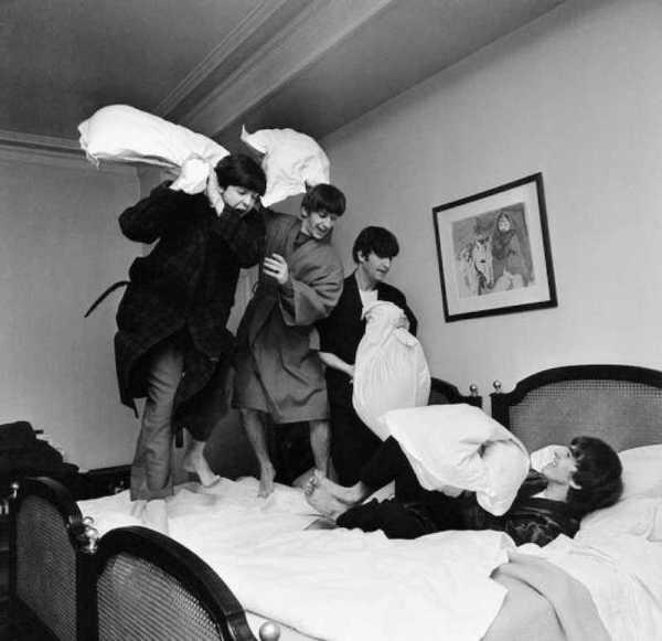 Benson Beatles almohadas