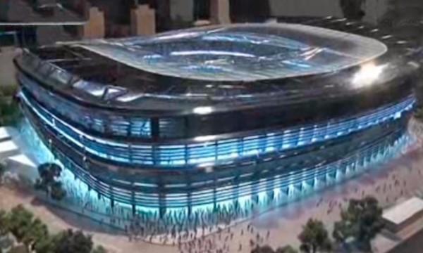 Maqueta del nuevo estadio de fútbol del Real Madrid, Santiago Bernabéu