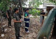 El ejército colabora con las autoridades sanitarias de Brasil para erradicar focos del mosquito que transmite el virus del Zika