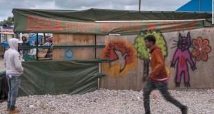 Calais: campamento