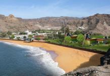 Boceto del proyecto de ampliación para la playa de Tauro del grupo Santana Cazorla