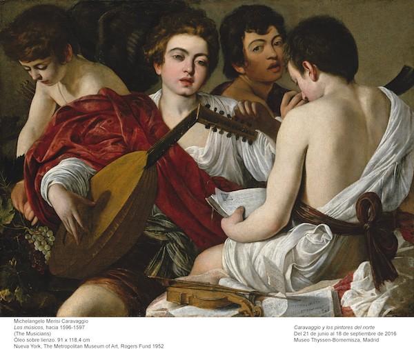 Caravaggio: los músicos