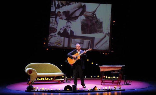 Pablo Carbonell en el escenario del Bellas Artes de Madrid