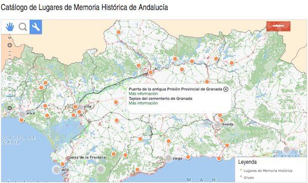 http://www.juntadeandalucia.es/organismos/presidenciaadministracionlocalymemoriademocratica/servicios/mapa/lugares-memoria-historica.html