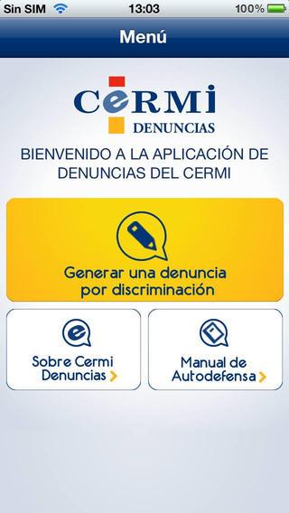 App para denunciar por discriminación por discapacidad