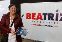 Beatriz Sánchez, candidato a la presidencia de Chile por el Frente Amplio de izquierdas