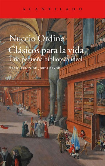Nuccio Ordine incide en el vigor de los clásicos