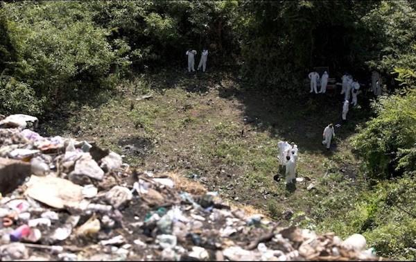 Investigadores de la CNDH sobre los normalistas desaparecidos. Cocula, Iguala.