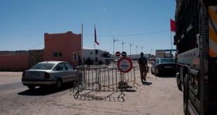 Control marroquí en Guerguerat