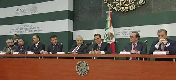 Los empresarios mexicanos dan la espalda a Peña Nieto