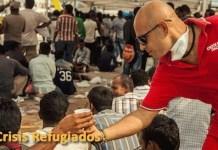 Cruz Roja mantiene ayuda permanente a campos de refugiados en Grecia