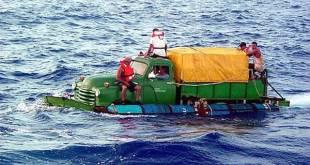 """Obama pone fin a 20 años de acoger cubanos """"pies mojados"""""""
