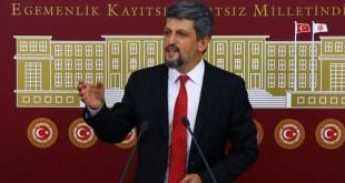 El diputado armenio Garo Paylan en el Parlamento turco