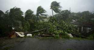 Dominica tras el paso del huracán María, septiembre de 2017.