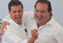 Javier Duarte y Peña Nieto en tiempos felices