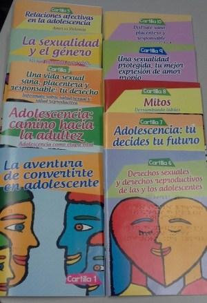 Edición en Braille de las Cartillas para formar a púberes y adolescentes para una sexualidad saludable