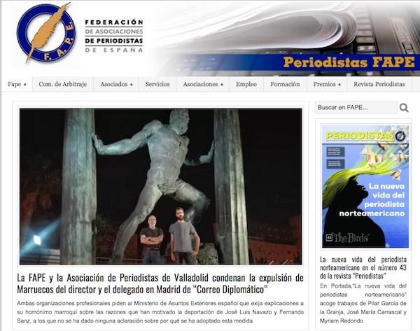 Periodismo en Marruecos: expulsados JL Navazo y Fernando Sanz