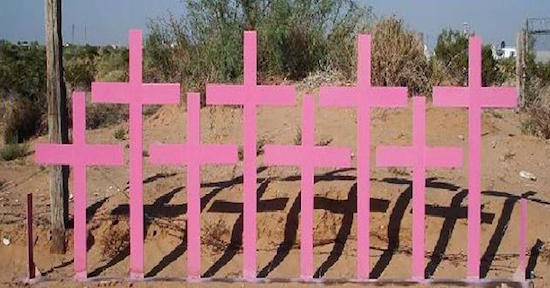 feminicidio-Mexico-cruces-rosas