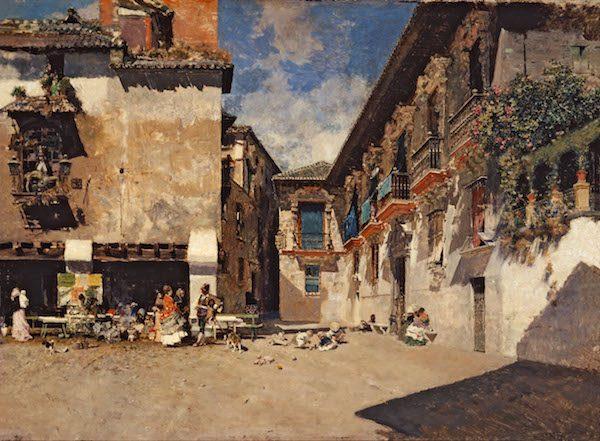Fortuny: Ayuntamiento viejo de Granada