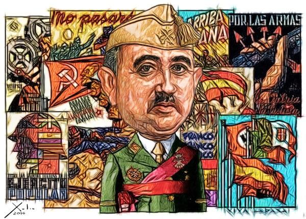 Xulio Formoso: Franco y Guerra Civil