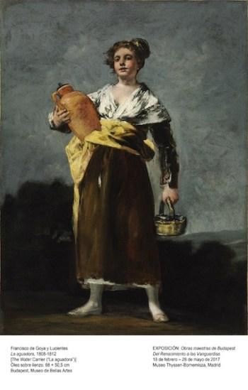 Foto: Goya. Aguadora