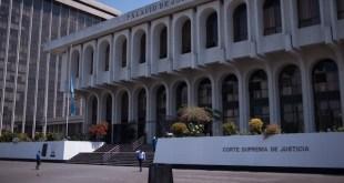 Palacio de Justicia en Guatemala