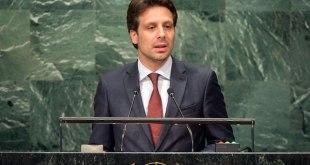 Guillaume Long, canciller de Ecuador, en en las sesiones de la 71 Asamblea General de las Naciones Unidas