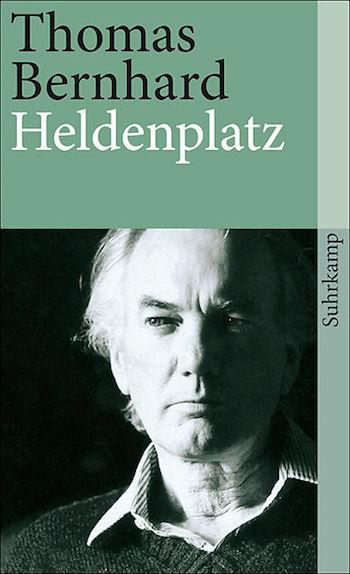 Heldenplatz, Thomas Bernhard, portada
