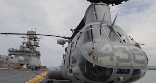 Helicópteros de transporte de EEUU se utilizaron para personal humanitario en Costa Rica