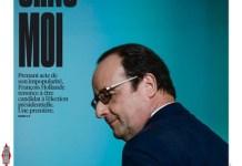Portada de Liberation sobre la renuncia de Hollande a la reelección