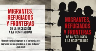 """Cártel del Congreso """"Emigrantes, refugiado, fronteras"""""""