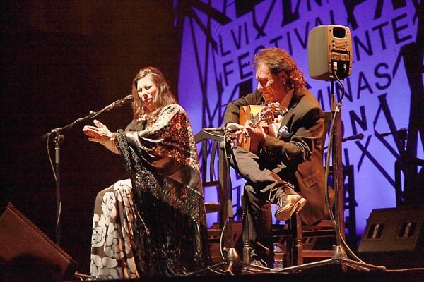 Gala de Premiados 2015. Festival I. del Cante de las Minas de la Unión. María José Pérez, Lámpara Minera 2015. la
