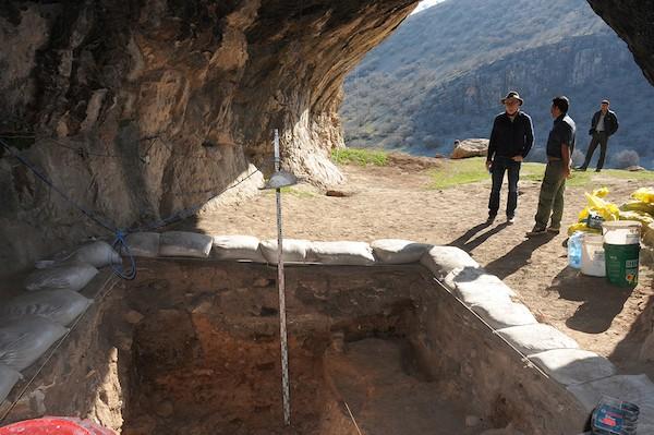Iran, cueva de Kaldar