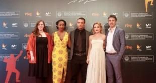 Director, actores y equipo de Lady Macbeth, Foto: Gorka Estrada