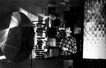 Julio Le-Parc en el atelier de París