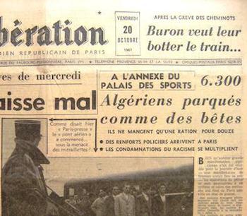 La máquina del olvido: París, hace 51 años, en el Sena...