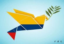 Logo del plebiscito por la paz en Colombia