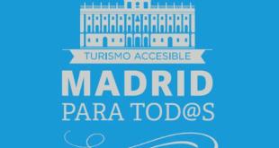 Madrid estrena un mapa accesible para personas con discapacidad visual
