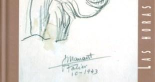 """Portada de """"Las horas muertas. Diarios y dibujos desde la prisión"""", de José Manaut."""