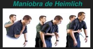 La maniobra de Heimlich, cuando hablamos de salvar vidas