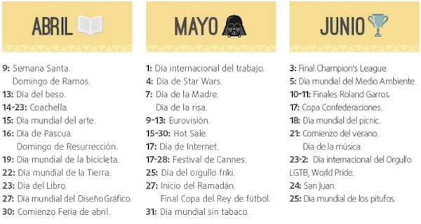 Marketing-calendario