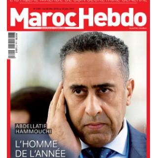 Maroc Hebdo, portada censurada