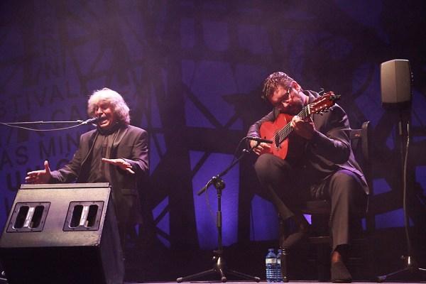José Mercé y Antonio Higuero en concierto. 56 Festival del Cante de las Minas de La Unión