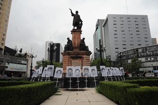 """Al 30 de septiembre de 2015 en México había 26.798 personas """"no localizadas""""."""