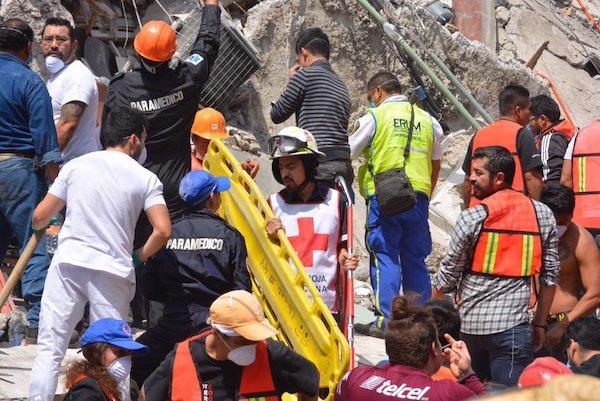 19 de septiembre de 2017. Fuerte terremoto en México 32 años después de un gran desastre