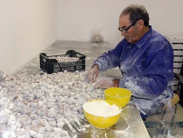 Mondelo, reportaje sobre la cosecha de higos secos en Cebolla, Toledo