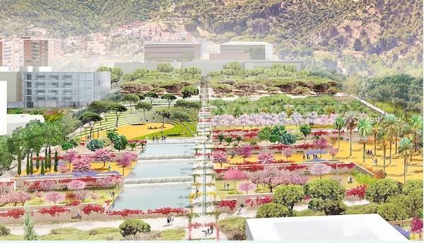 Moneo-Brock-Vall-d-Hebron-paisaje-campus